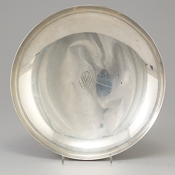 A sterling silver bowl, Stockholm, 1951.
