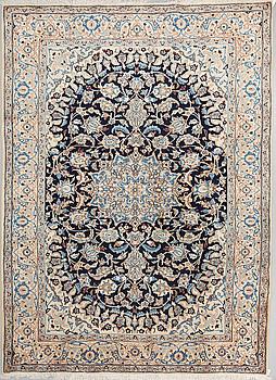 MATTA, Meshad/Nain, part silk, ca 332 x 243 cm.