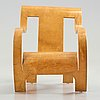 Gerald summers, a birch plywood easy chair, makers of simple furniture, england ca 1935-40.