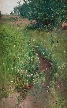 257. ALFRED THÖRNE, Summer Meadow.