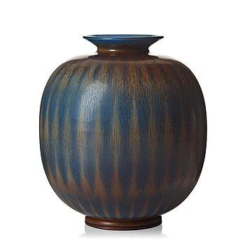 49. Berndt Friberg, a stonewear vase, Gustavsberg studio, Sweden 1960.