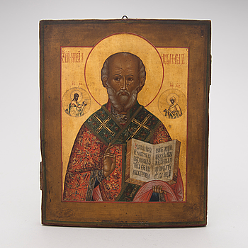 A late 19th century Russian icon.