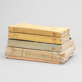 SAMLING HÄFTEN 5 st, bland annat Protokoll hållna hos Högloflige Ridderskapet och Adel...1809.