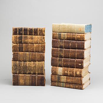 MODEES WERK, 15 vol , Utdrag från Publika handlingar...  Reinhold Gustaf Modée, Kungl. tryckeriet, 1742-1829.