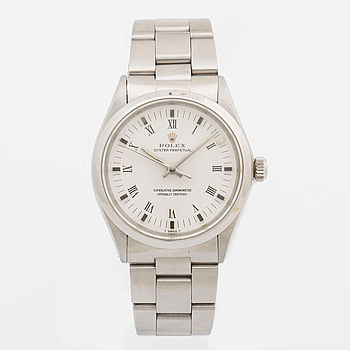 ROLEX, Oyster Perpetual, Chronometer, armbandsur, 34 mm,
