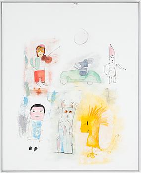 MADELEINE PYK, olja på duk, signerad. 2006.