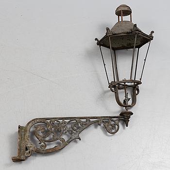 GATLYKTA, gjutjärn, omkring år 1900.