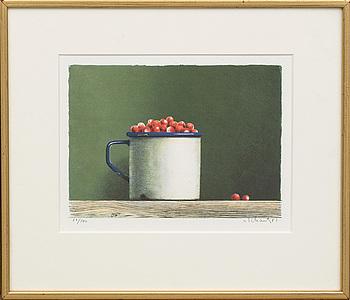 PHILIP VON SCHANTZ, färglitografi, signerad och numrerad 58/140, utförd 1981.