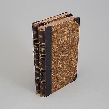 BÖCKER, två volymer, tyska härens operationer, tryckta 1872/74.
