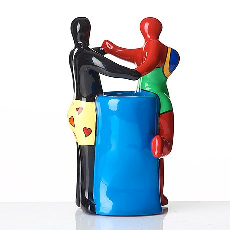 "Niki de saint phalle, ""dancing couple""."