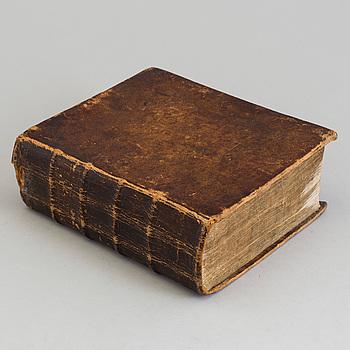 BOK: Wårs Herras och Frälsares Jesu Christi Historia, Sven Baelter, Stockholm 1770.