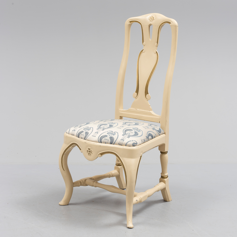 A 18th century rococo chair Bukowskis