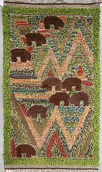 MATTA, reliefrya, ca 140 x 80,5 cm, möjligen av Viola Carlberg.