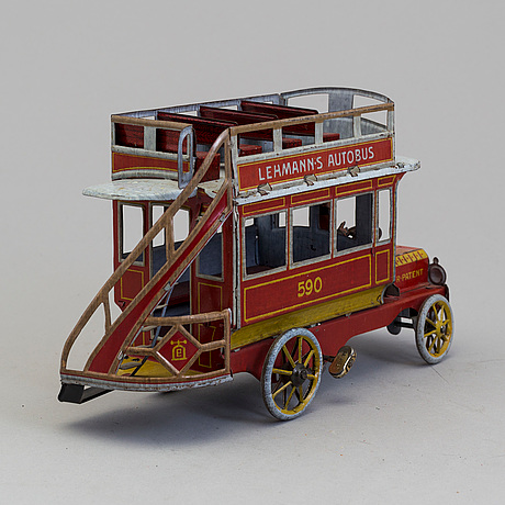 Lehmanns autobus 590, germay, first half of the 20th century