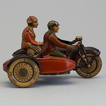 TIPP & CO, sidovagnsmotorcykel, Tyskland, 1930-tal.