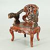 A japanse arm chair, 20th century