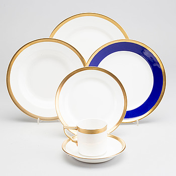 KARIN BJÖRQUIST, KARIN BJÖRQUIST, a 64 pcs Nobel porcelain dinner service.