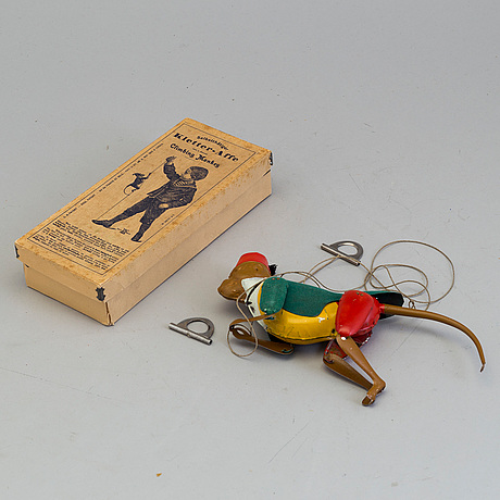 "Lehmanns, monkey ""tom 385"" germany early 20th century."
