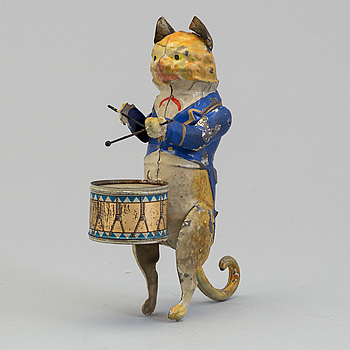 GÜNTHERMANN, a mechanical cat, germany early 20th century.