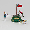 A mechanical tin toy, probably germany, early 20th century