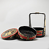A chinese food basket, 20th century
