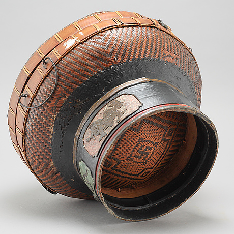 A chinese basket, early 20th century