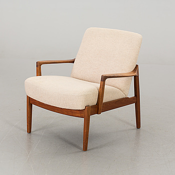 "AN EDVARD KINDT-LARSEN ""MODEL 125"" ARMCHAIR, France & Son."