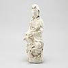 A blanc de chine figurine, qing dynasty (1644 1912)