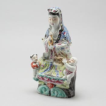 GUANYIN, porslin, Kina, 1900-tal.