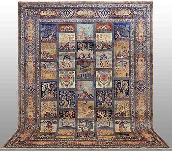 MATTA, Figural Kashmar, 390 x 292 cm.