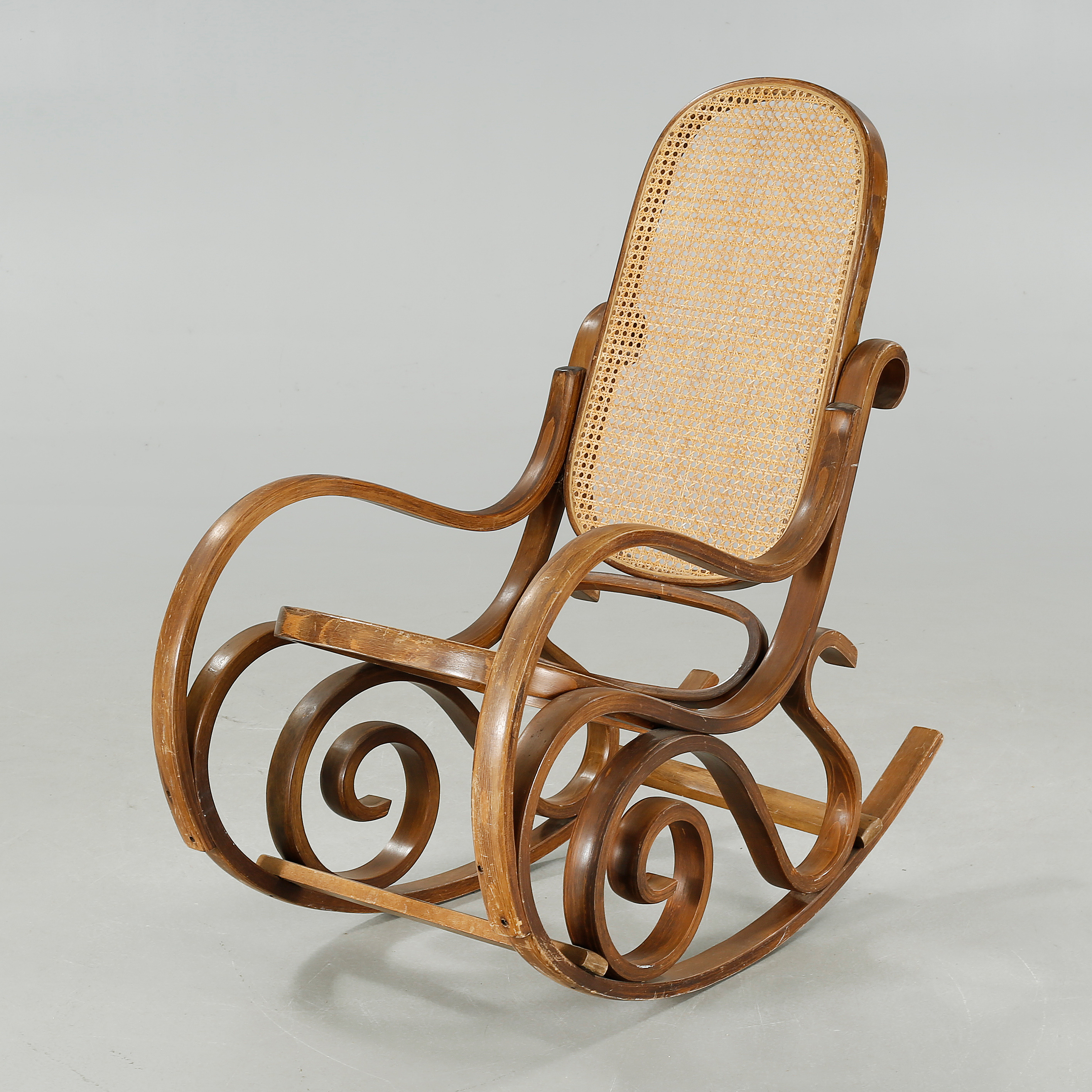 a 20th century rocking chair in thonet style bukowskis