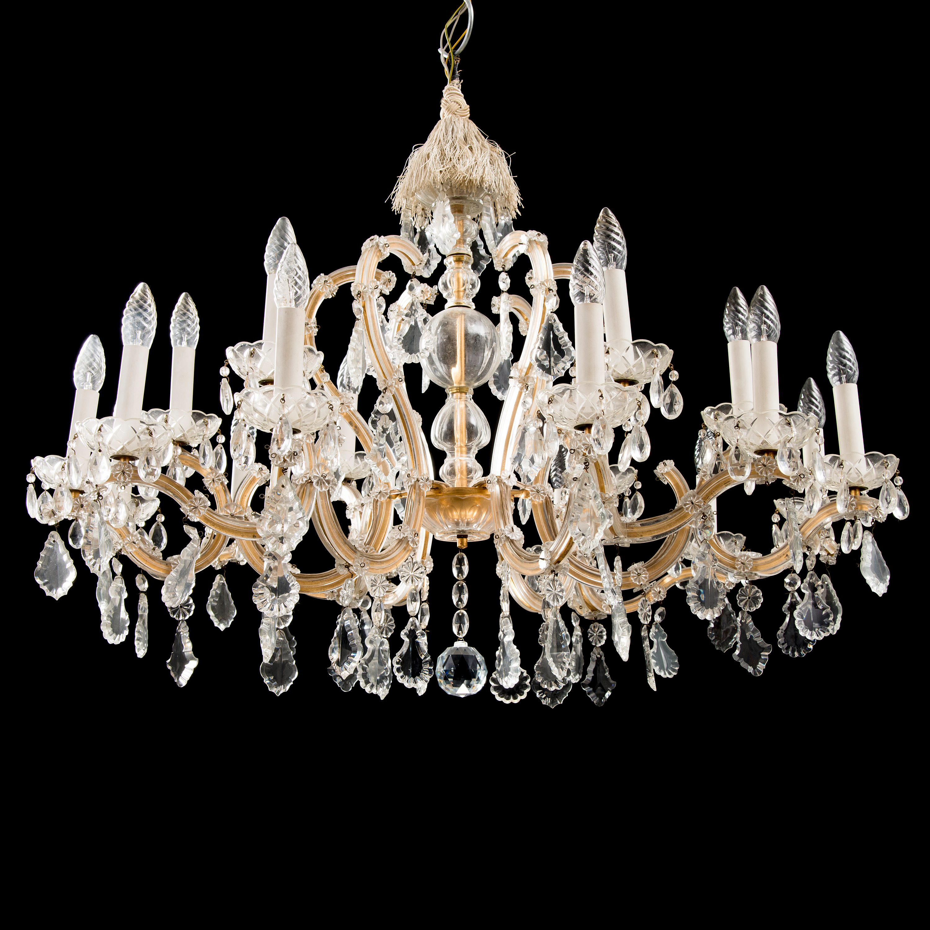 A maria theresa style chandelier from the latter half of the 20th 10850525 bukobject arubaitofo Choice Image