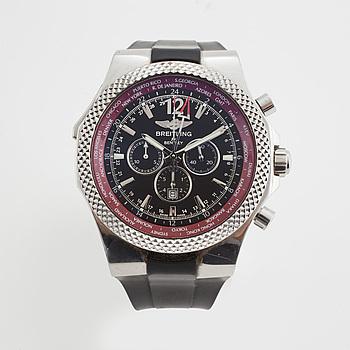 BREITLING for BENTLEY, GMT, Limited Edition, kronograf, armbandsur, 48 mm,