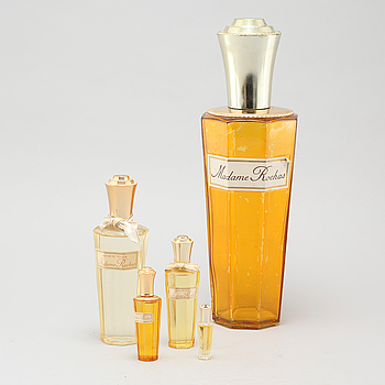 MADAME ROCHAS, 4 so called factics and 1 perfume sample.