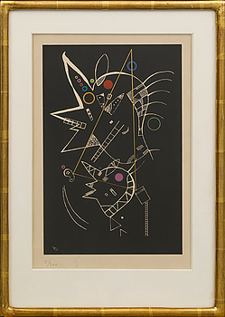 WASSILY KANDINSKY, WASSILY KANDINSKY, signed and dated in print, numbered 5/300,