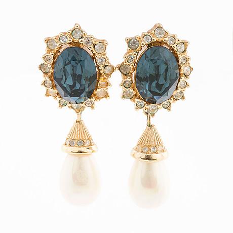 Christian dior, bijouteri, earrings