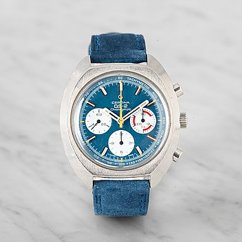 4. CERTINA, DS-2, Chronolympic, chronograph.