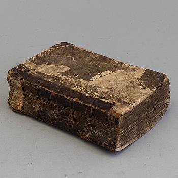 BOK: Cajsa Wargs Kokbok, 1700-/1800-tal.