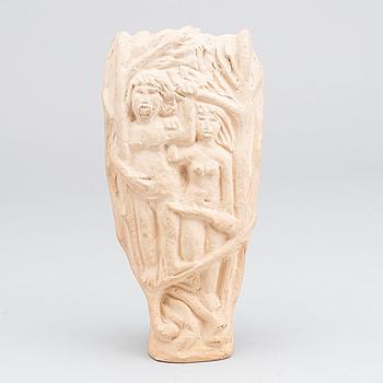 ÅKE HOLM, ÅKE HOLM, a terracotta scultpure. Signed.