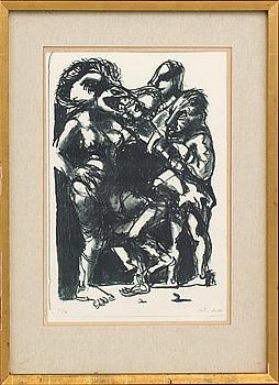 PETER DAHL, litografi signerad och numrerad 33/90.