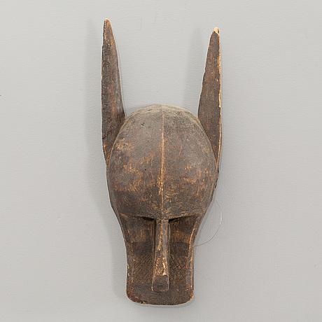 Bamana mask, mali, western africa