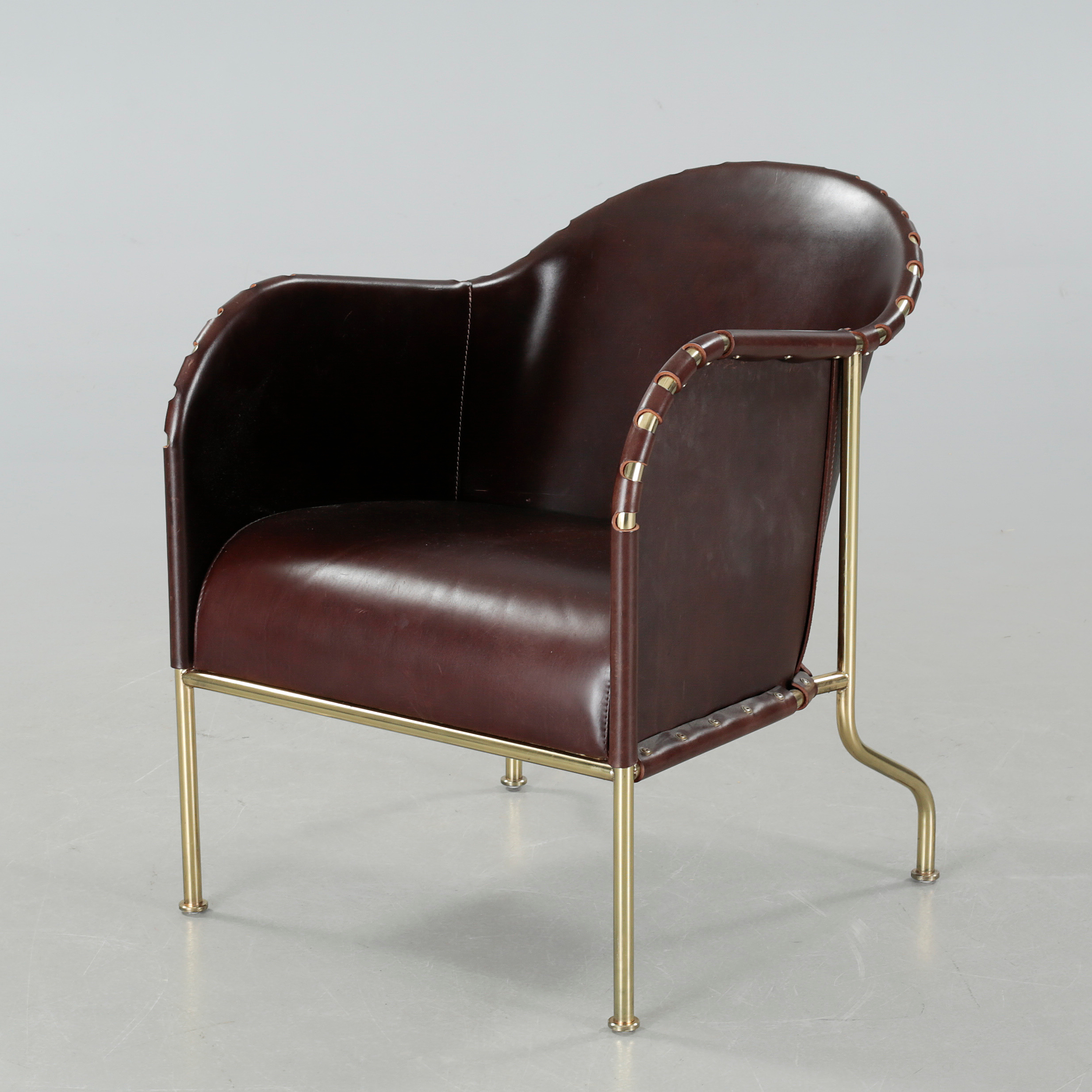 """MATS THESELIUS a """"Bruno"""" lounge chair Källemo the model"""