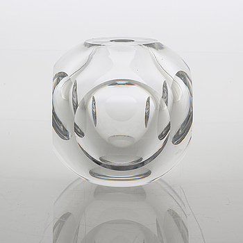 WILLY JOHANSSON, vas, glas, Hadeland Glassverk.
