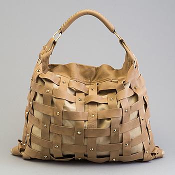 VÄSKA, Salar Juni Woven Shoulder Bag.