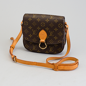 "VÄSKA, ""Saint Cloud"", Louis Vuitton."