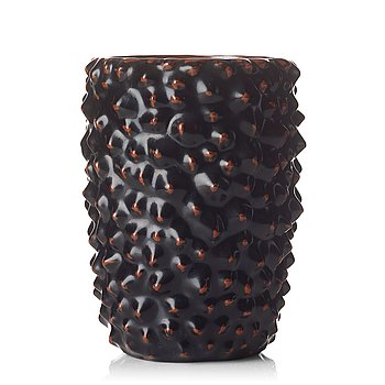 108. Axel Salto, a glazed stoneware vase, Royal Copenhagen, Denmark.