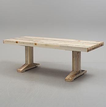 "PIET HEIN EEK, ""Canteen Scrapwood Table"", Holland, 2000-tal."