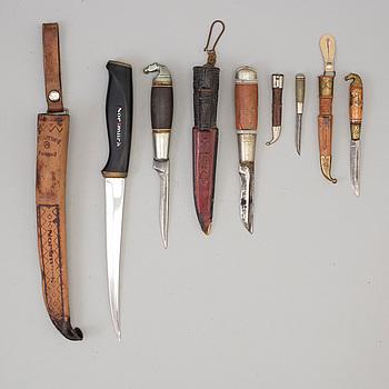 KNIVAR, 5 st, Finland, 1900-tal.