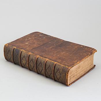 German Bible, 1735.
