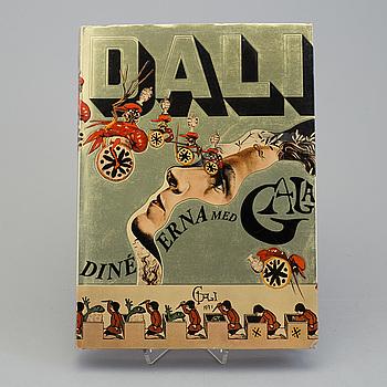 SALVADOR DALÍ, SALVADOR DALÍ, after, cook book, numbered 351 / 1500.